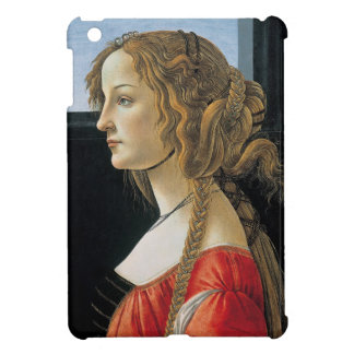 Portrait of a Young Woman by Botticelli iPad Mini Cases