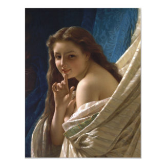 Portrait of a Young Woman by Pierre Auguste Cot Card