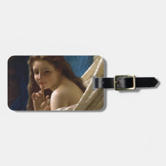 Portrait of a Young Woman by Pierre Auguste Cot Luggage Tag