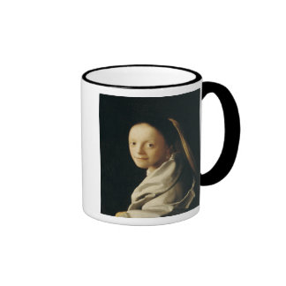 Portrait of a Young Woman, c.1663-65 Mugs