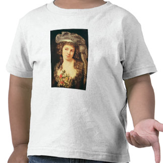 Portrait of a young woman shirts