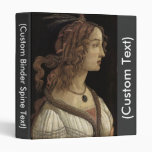 Portrait of a Young Woman Vinyl Binders
