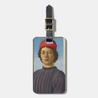 Portrait of a Youth, c.1485 (oil & tempera) Tag For Bags