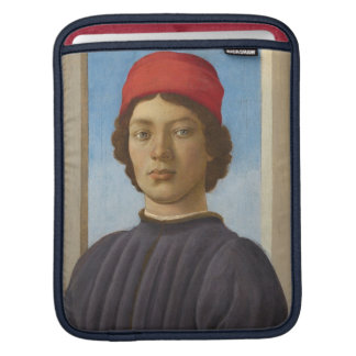 Portrait of a Youth, c.1485 (oil & tempera) Sleeves For iPads