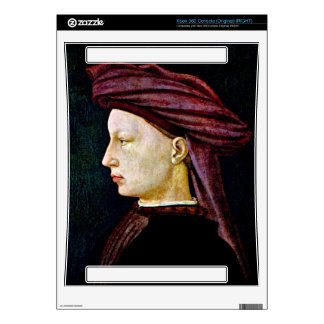 Portrait of a youth in profile by Masaccio Decal For The Xbox 360