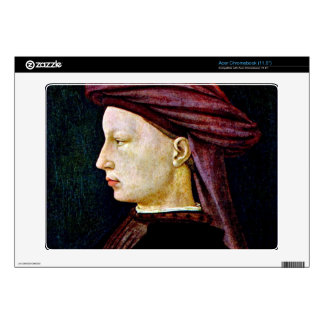 Portrait of a youth in profile by Masaccio Acer Chromebook Skins