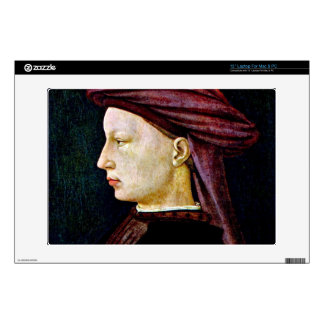 "Portrait of a youth in profile by Masaccio Skins For 13"" Laptops"