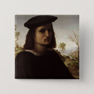 Portrait of a Youth with Gloves, 1514 (oil on pane Button