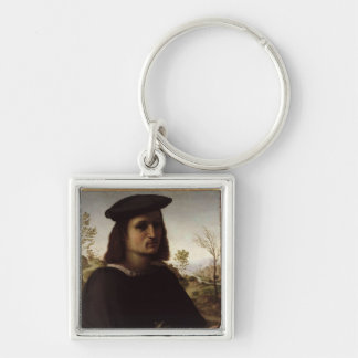 Portrait of a Youth with Gloves, 1514 (oil on pane Keychain