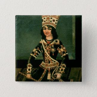 Portrait of Abbas-Minza Button