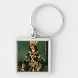 Portrait of Abbas-Minza Key Chains