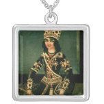 Portrait of Abbas-Minza Personalized Necklace