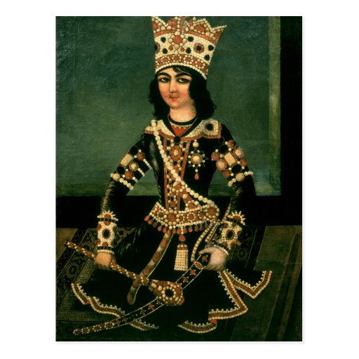 Portrait of Abbas-Minza Post Cards