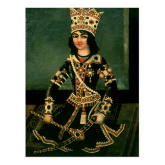 Portrait of Abbas-Minza Postcard