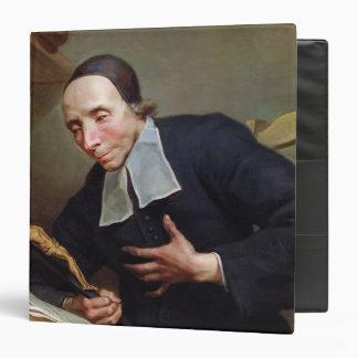 Portrait of Abbot Firmin Tournus 3 Ring Binder