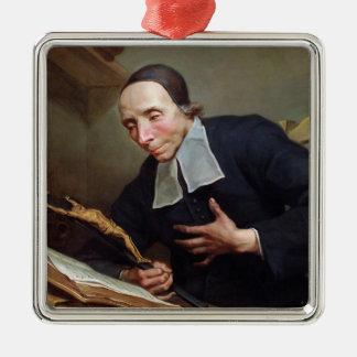 Portrait of Abbot Firmin Tournus Metal Ornament