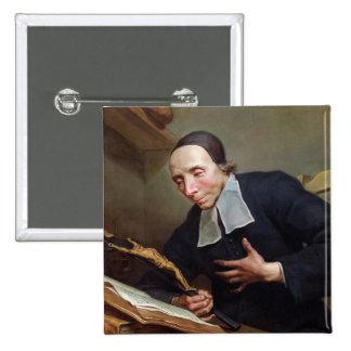 Portrait of Abbot Firmin Tournus Pinback Button