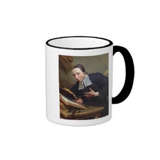 Portrait of Abbot Firmin Tournus Ringer Mug
