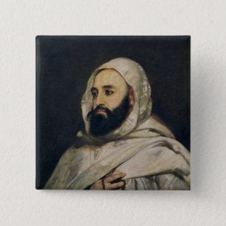Portrait of Abd el-Kader Button