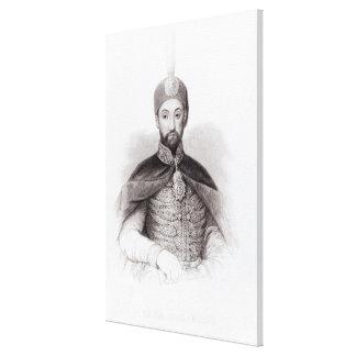 Portrait of Abdulmecit Canvas Print