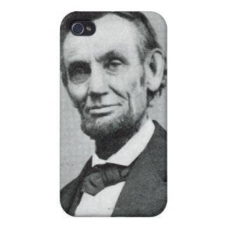 Portrait of Abe Lincoln 1 iPhone 4 Cases