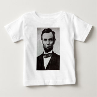 Portrait of Abe Lincoln 2 Baby T-Shirt