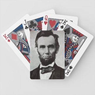 Portrait of Abe Lincoln 2 Bicycle Playing Cards