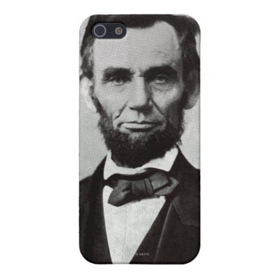 Portrait of Abe Lincoln 2 Cover For iPhone 5