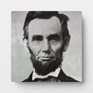 Portrait of Abe Lincoln 2 Plaque