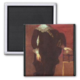 Portrait of Abel Janszoon Tasman Magnet