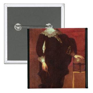 Portrait of Abel Janszoon Tasman Pinback Button