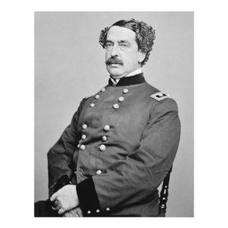 Portrait of Abner Doubleday by Mathew B. Brady Letterhead