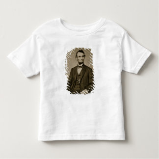 Portrait of Abraham Lincoln (1809-65) (b/w photo) Toddler T-shirt
