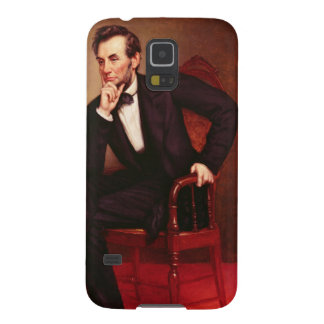 Portrait of Abraham Lincoln Case For Galaxy S5