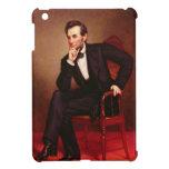Portrait of Abraham Lincoln iPad Mini Covers