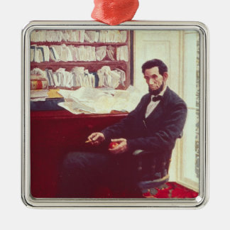 Portrait of Abraham Lincoln Metal Ornament