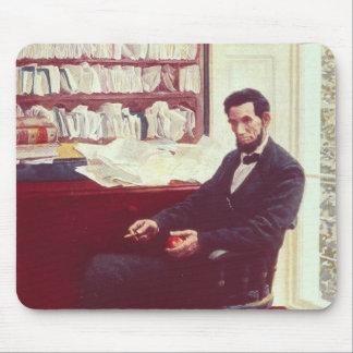 Portrait of Abraham Lincoln Mouse Pad