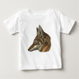 Portrait of Abyssinian Wolf Baby T-Shirt