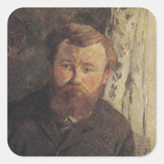 Portrait of Achille Granchi Taylor, 1885 Square Sticker