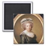 Portrait of Adelaide de France  1791 Fridge Magnets