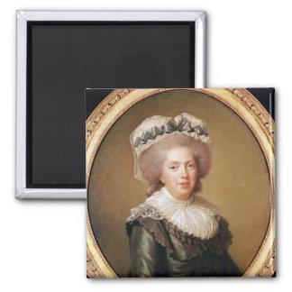 Portrait of Adelaide de France  1791 Magnet
