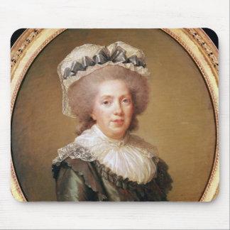 Portrait of Adelaide de France  1791 Mouse Pad