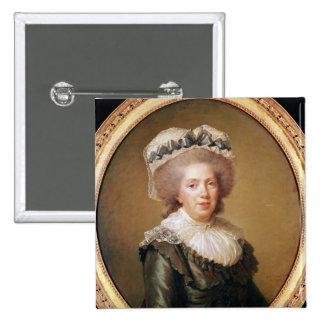 Portrait of Adelaide de France  1791 Pinback Button