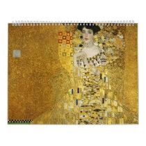 Portrait of Adele Bloch-Bauer I - Gustav Klimt Calendar