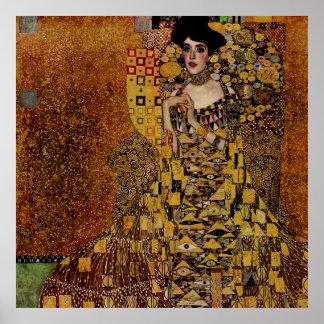 Portrait of Adele Bloch-Bauer I Poster