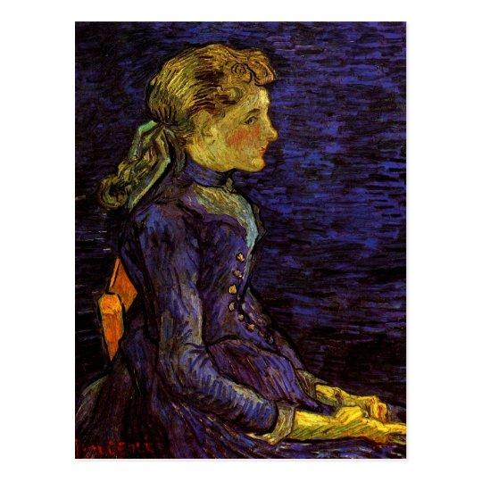 Portrait of Adeline Ravoux by Vincent van Gogh Postcard