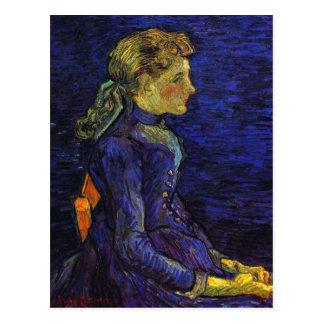 Portrait of Adeline Ravoux Vincent van Gogh Postcard