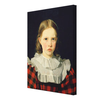 Portrait of Adolphine Kobke  19th June 1832 Canvas Print