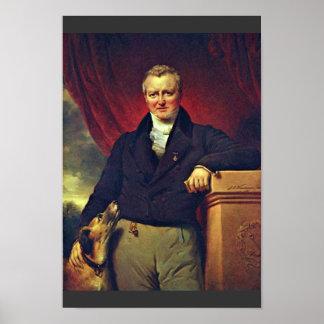 Portrait Of Adriaan Van Der Hoop (1778-1854) By Kr Print