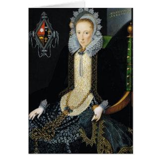 Portrait of Adriana van Nesse, 1611 Card